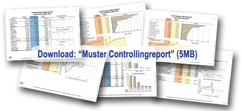 muster controlling report